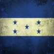 Grunge flag of Honduras — Stock Photo #9186769