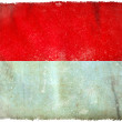 Indonesia grunge flag — Stock Photo