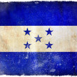 Honduras grunge flag — Stock Photo