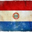 Paraguay grunge flag — Stock Photo