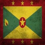 Гранж флаг Гренады — Стоковое фото