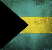 Bandera de grunge de bahamas — Foto de Stock