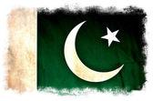 巴基斯坦 grunge 旗 — 图库照片