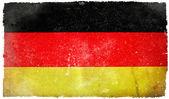 Tyskland grunge flagga — Stockfoto