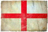 Engeland grunge vlag — Stockfoto