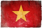 Vietnam grunge flag — Stock Photo