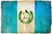 Guatemala grunge flag — Stock Photo