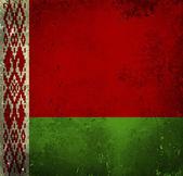 Grunge flag of Belarus — Stock Photo