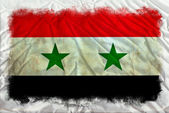 Syria grunge flag — Stock Photo