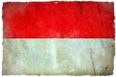 Monaco grunge flag — Stock Photo