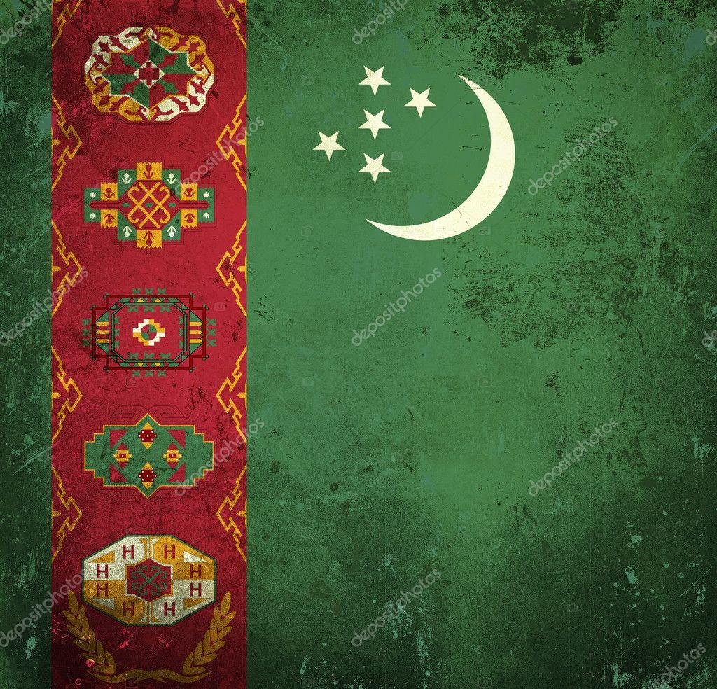 Туркменистан флаг - fac0