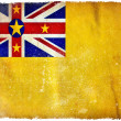 Niue grunge flag — Stock Photo #9191236