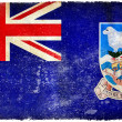 Falkland islands grunge flag — Stock Photo #9191281