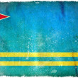 Aruba grunge flag — Stock Photo
