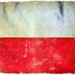 Stock Photo: Poland grunge flag