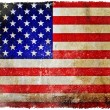 Stock Photo: vintage usa flag