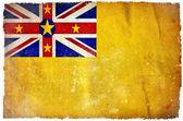 Niue grunge flag — Stock Photo