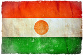 Niger grunge flag — Stock Photo