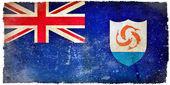 Anguilla grunge flag — Stock Photo