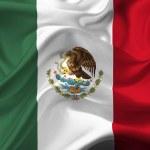 Mexico waving flag — Stock Photo #9233801