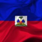 Постер, плакат: Haiti waving flag