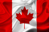 Canada waving flag — Stock Photo