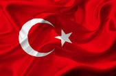 Turkey waving flag — Stock Photo
