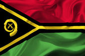 Machać flaga vanuatu — Zdjęcie stockowe