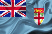 Fiji waving flag — Stock Photo