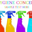 Stock Photo: Hygiene cleaning concept