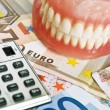 Stock Photo: Dental costs concept