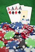Glücksspiel-konzept — Stockfoto