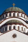 St Sava temple — Stock Photo