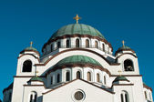 Cathedral of Saint Sava in Belgrade Serbia — Stock Photo