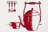 Elementos de cocina — Foto de Stock