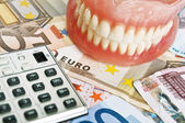 Dental costs concept — Stock Photo