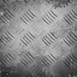 Grunge diamond metal background — Stock Photo