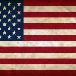 United States of America grunge flag — Stock Photo #9401368