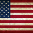 United States of America grunge flag — Stock Photo
