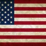 Соединенные Штаты Америки гранж флаг — Стоковое фото #9401368