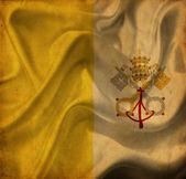 Vatican City waving flag — Stock Photo
