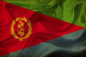 Eritrea waving flag — Stock Photo