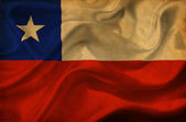 Chile waving flag — Stock Photo