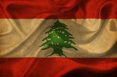 Lebanon waving flag — Stock Photo