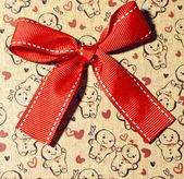 Gift box close up — Stock Photo