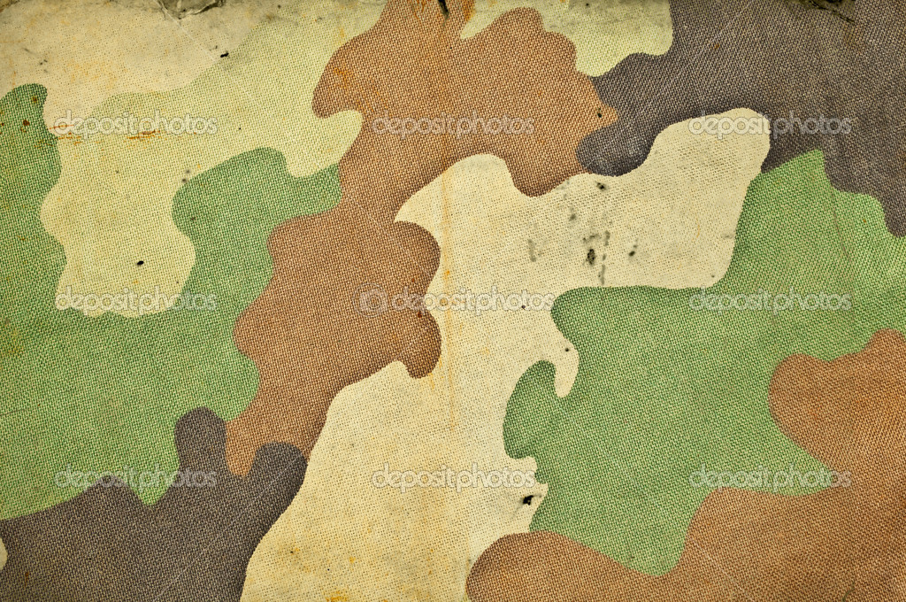 Retro camouflage army background — Stock Photo #9726571