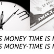 Time is money - conceptual image — Stock Photo