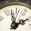 Stock Photo: Antique clock closeup