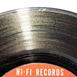 Vintage vinyl record closeup — Stock Photo