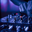 DJ Music night club - Foto de Stock